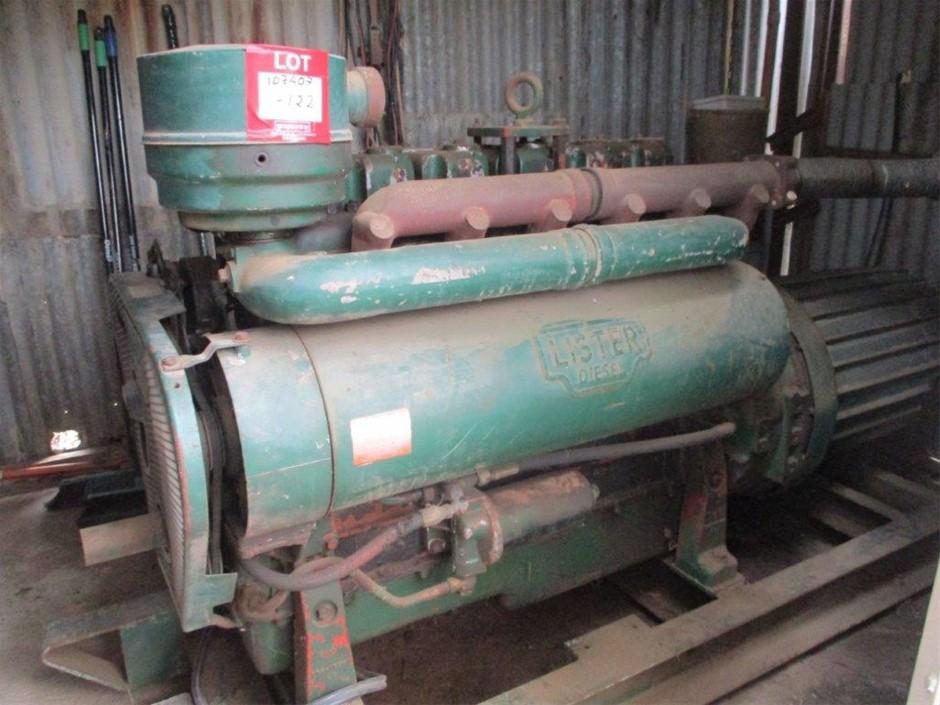 Lister / Dunlite 50 KVA Generator