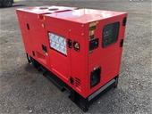 2021 Unused 25 kVA Diesel Generators - Toowoomba