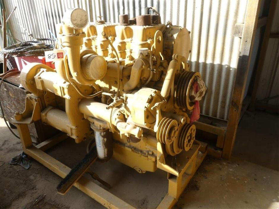 Caterpillar, 3406, 6 Cylinder Turbo Diesel Engine