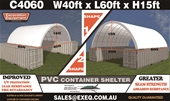 2021 Unused Container Shelters - Melbourne