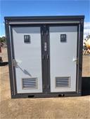 2021 Unused Double Cubicle Toilet Block - Toowoomba