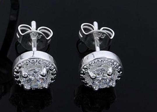 Brand new crystal stud earrings