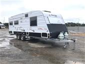 2012 New Age Caravans Big Red series 2 24FT Caravan