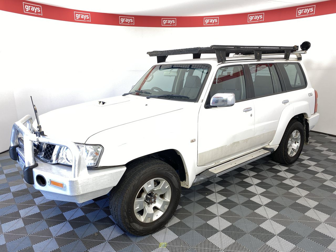 2013 Nissan Patrol 3.0L ST GU Turbo Diesel Automatic 8 Seats Wagon