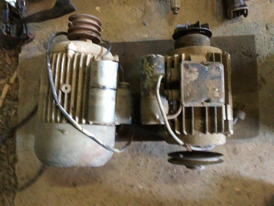 2x Electric Induction Motors