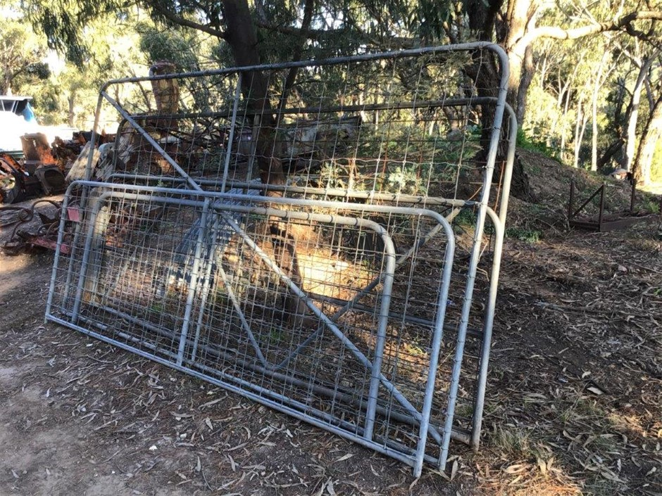 4 x Assorted Paddock Gates