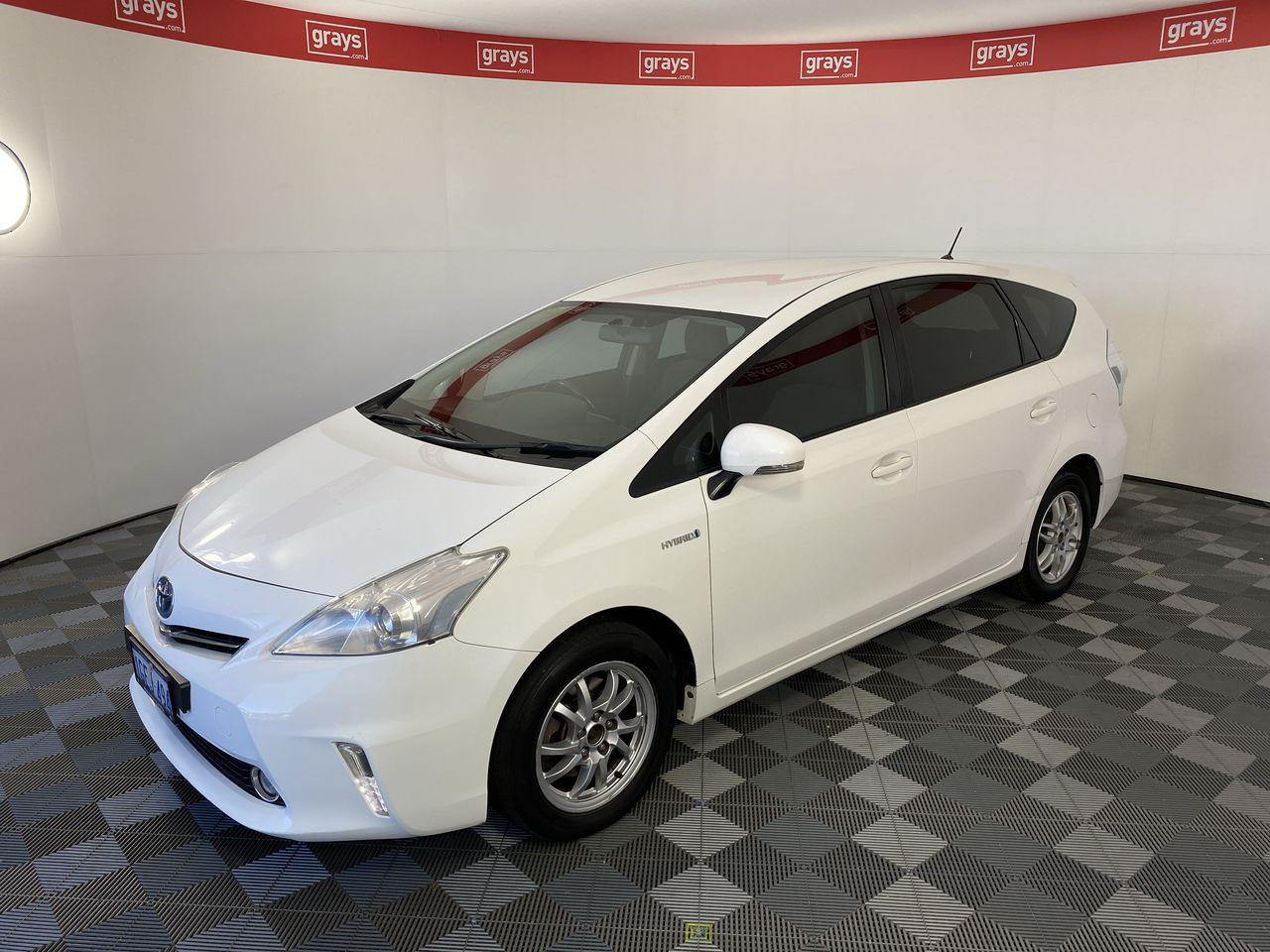 2012 Toyota PRIUS-V ZVW40R Automatic 7 Seats Wagon