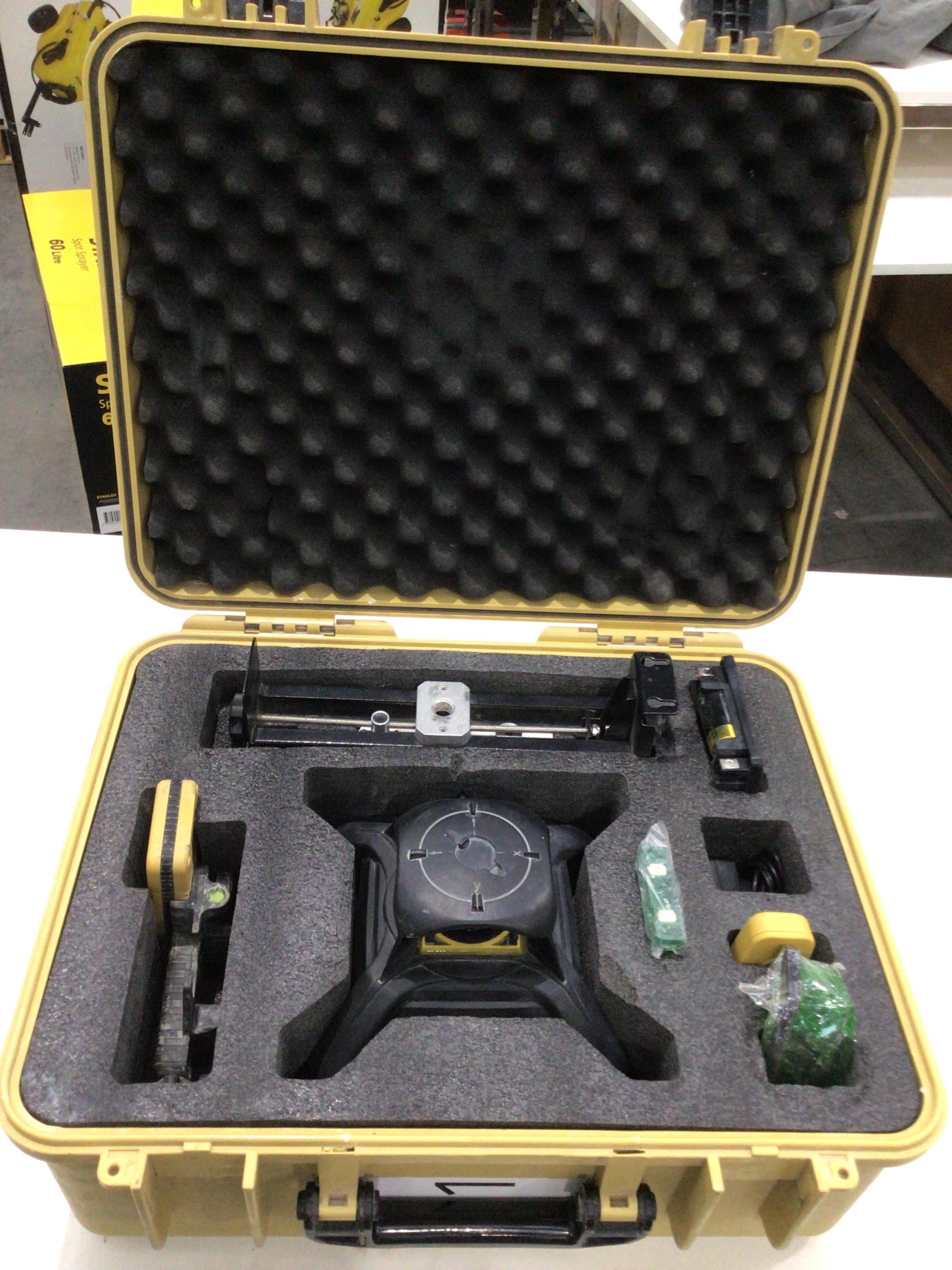 CPI Green beam rotary laser kit