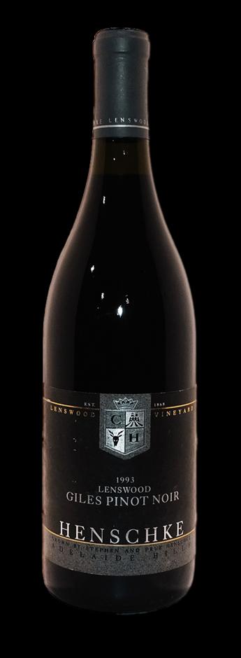 Henschke Giles Lenswood Pinot Noir 1993 (1x 750mL), Eden Valley