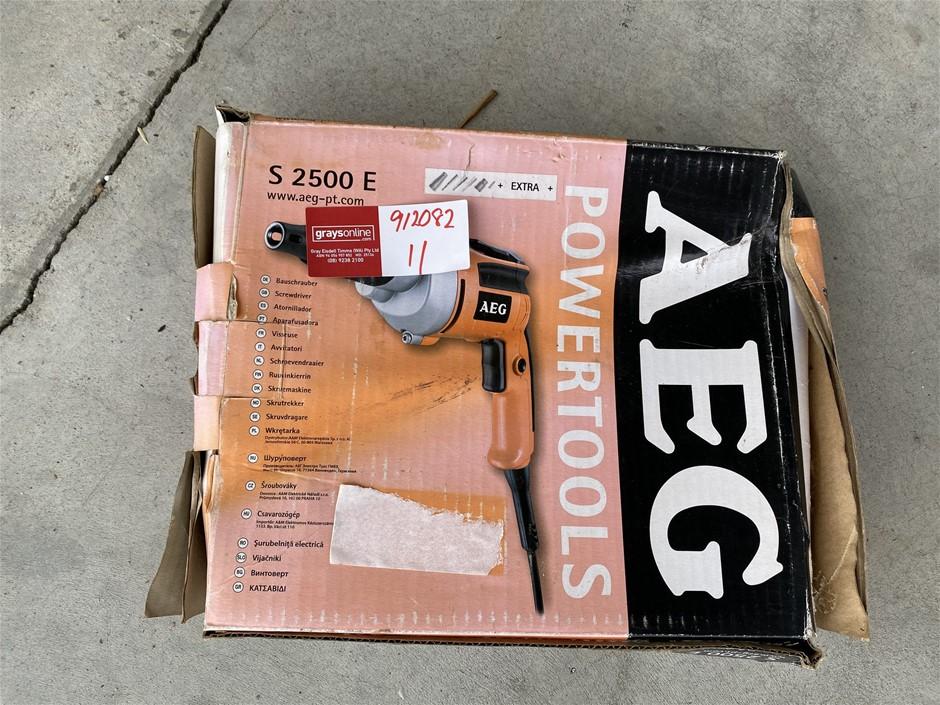 AEG S2500 E Power Drilll
