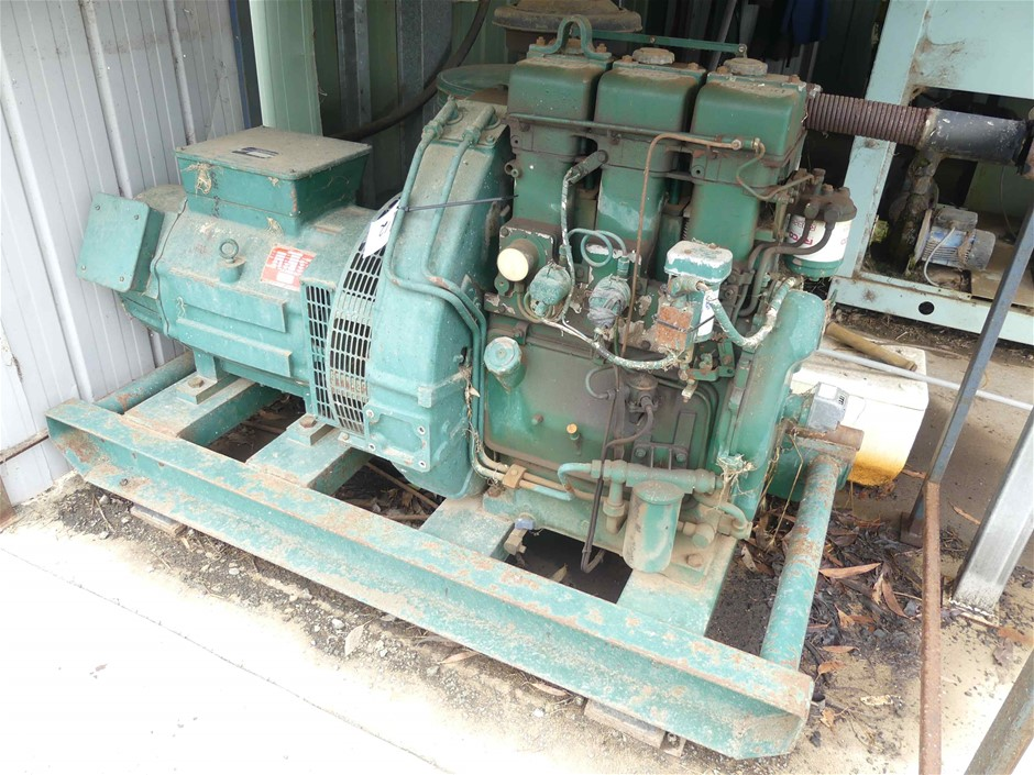 Skid Mounted Diesel Powered Generator