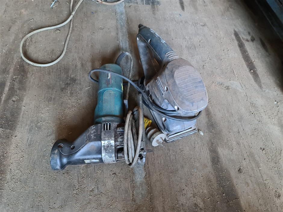 240V Makita Jigsaw & GMC Sander