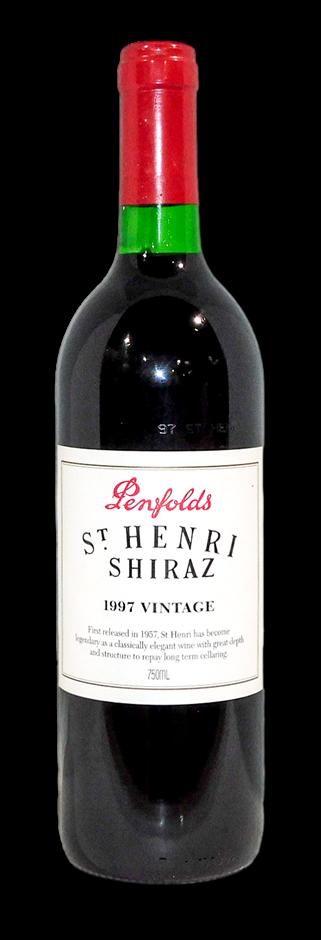 Penfolds St Henri Shiraz 1997 (1x 750mL), SA