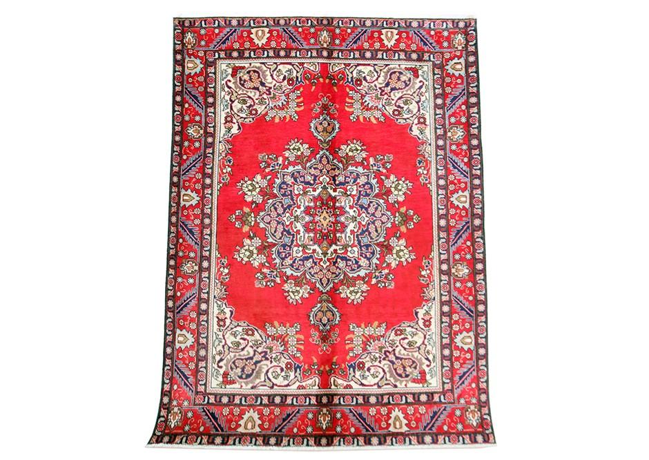 VINTAGE look Handmade , 100% Wool SIZE (cm) : 205 X 280