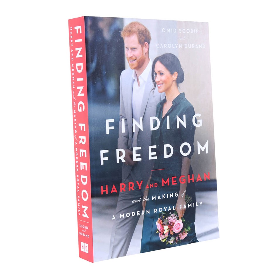 Finding Freedom: Harry + Meghan & the Making of A Modern Royal Family by Om