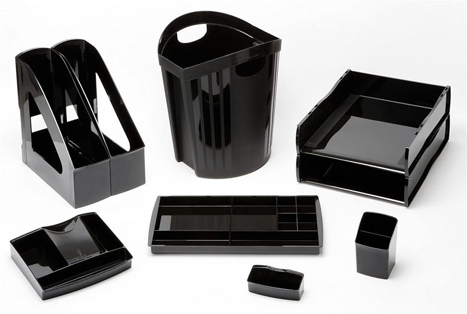 ESSELTE Nouveau Desk Access Pack Essential Black. (SN:B07612CS12) (281524-5