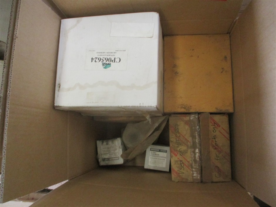 Box of Assorted Filters