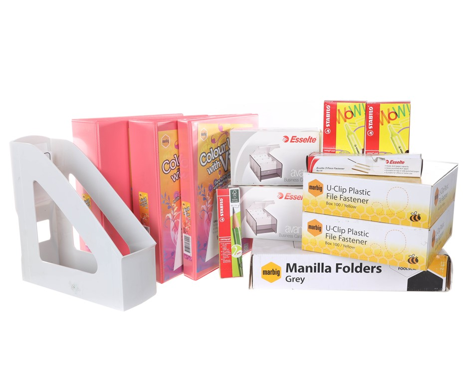 Large Box of Mixed Stationeries. (SN:B02Z3245) (281524-572)