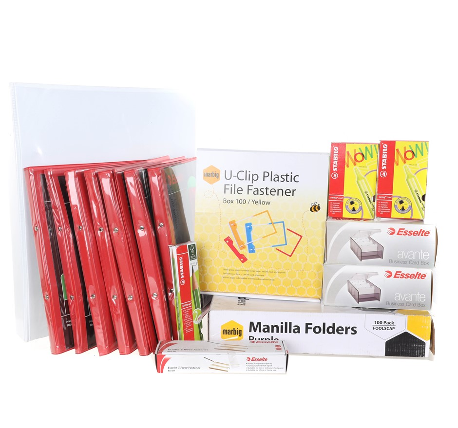 Large Box of Mixed Stationeries. (SN:B02Z3277) (281524-574)