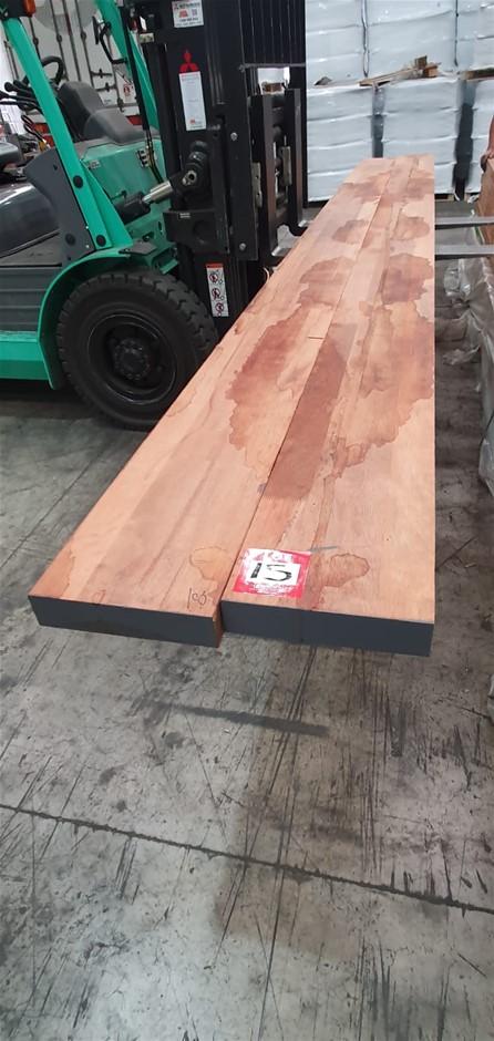 Merbau FJL DAR 290X 68 : Total 2pcs/5.4m