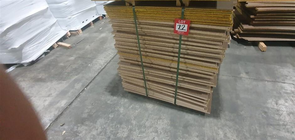 Particle board 970cm x 970cm 46 sheets