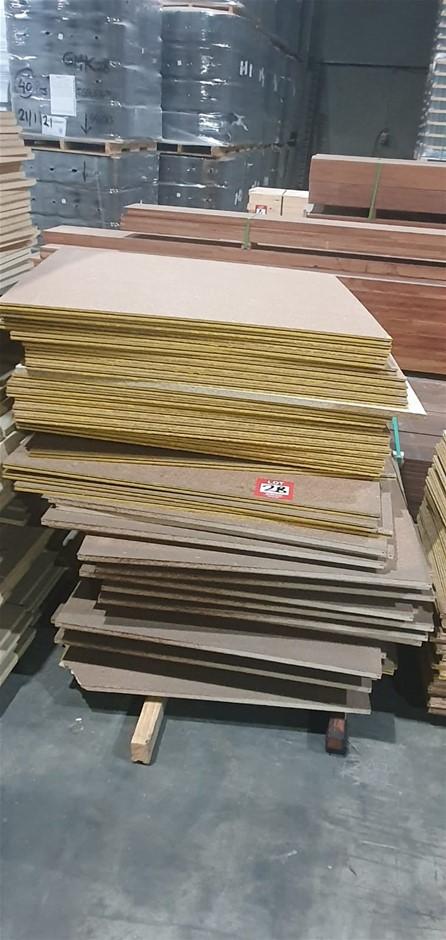 Particle board 1350cm x 1300cm 53 sheets