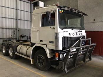 1984 Volvo F12 6 x 4 Prime Mover Truck