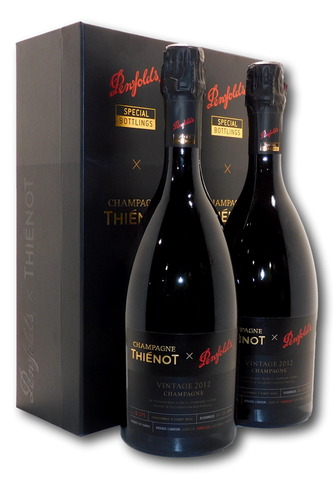 Penfolds x Thienot Champagne 2012 (2x 750mL, Boxed)
