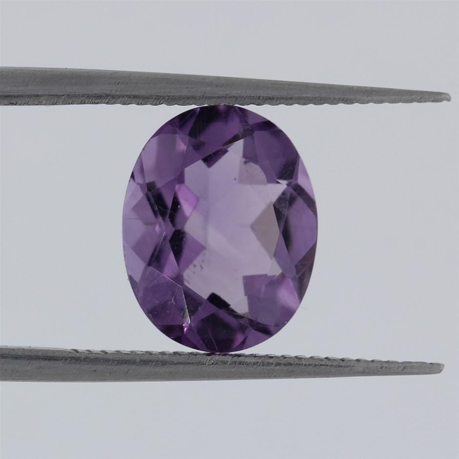 2.07ct AAA Vibrant Purple Amethyst