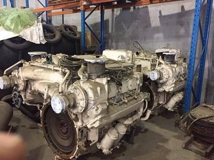 MTU 6V396 Marine Diesel Engine