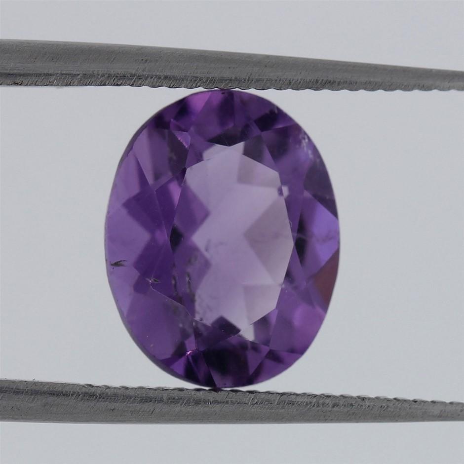 2.15ct AAA Vibrant Purple Amethyst