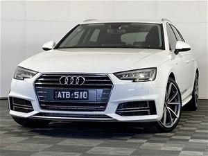 2018 Audi A4 2.0 TFSI SPORT B9 Automatic