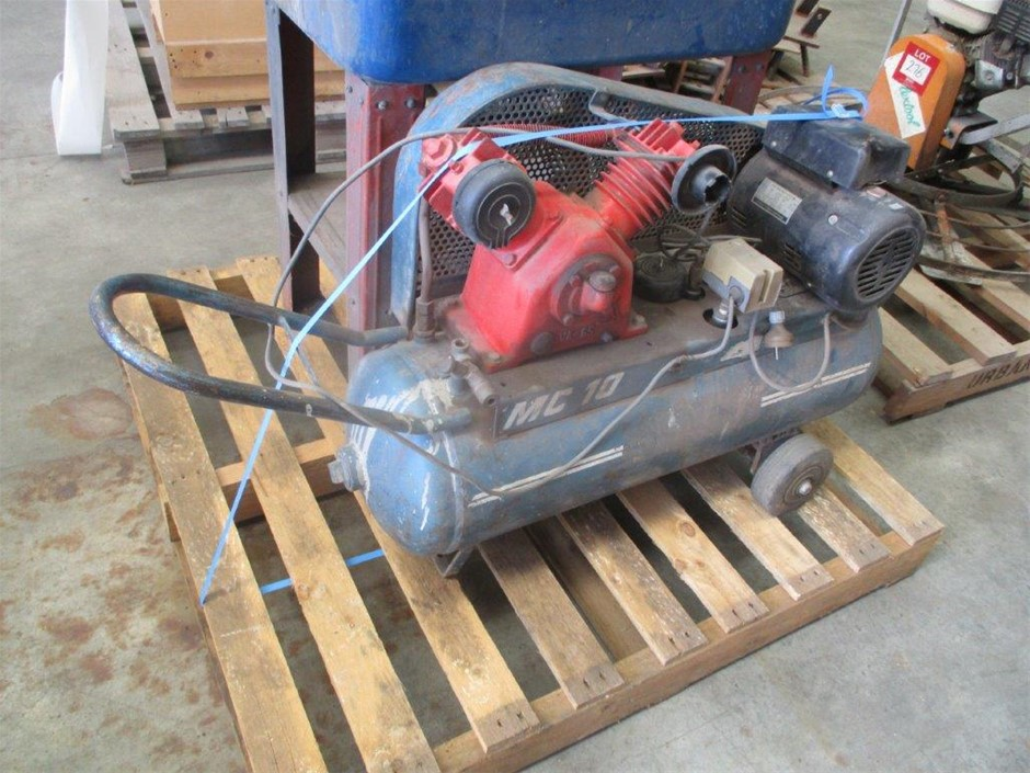 McMillan Twin Cylinder Air Compressor