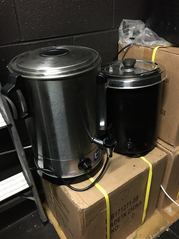 1 x Urn & 1 x Soup Kettle Combo