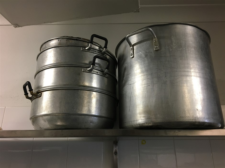 Qty Commercial Stock Pots