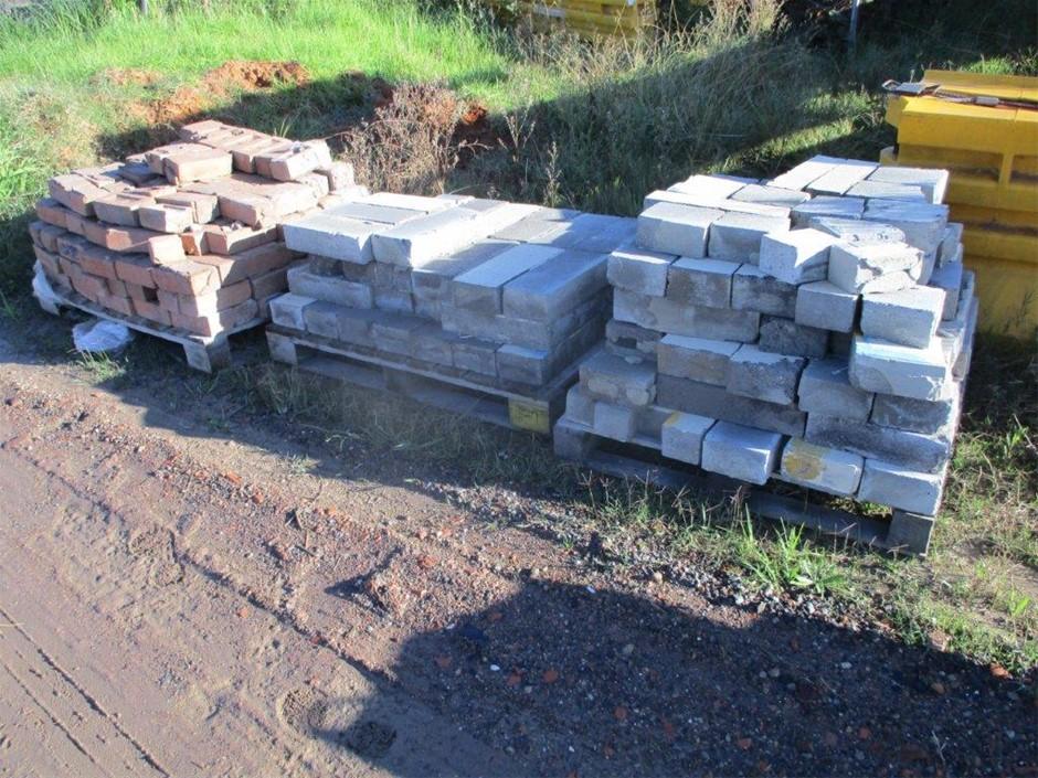 5x Pallets of Assorted Bricks