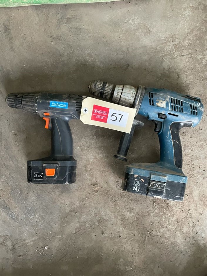 Assorted Cordless Power tools