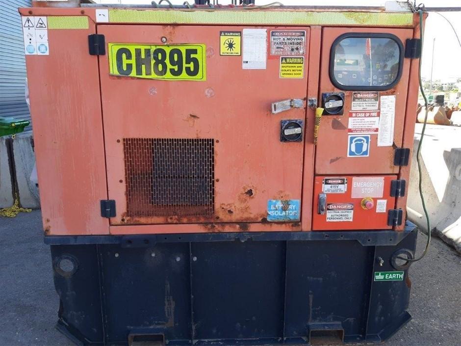 2011 FG WILSON XD-20 Generator - 20kVA (Diesel)