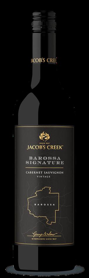 Jacobs Creek Barossa Signature Cabernet Sauvignon 2018 (6 x 750mL), SA.