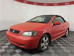 2005 Holden Astra Convertible TS Automat