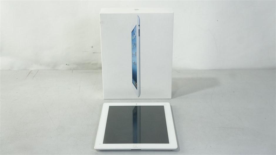 Apple iPad 3 Wi-Fi 16GB White Tablet