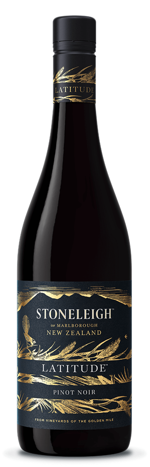Stoneleigh Latitude Pinot Noir 2019 (6 x 750mL), Marlborough, NZ.