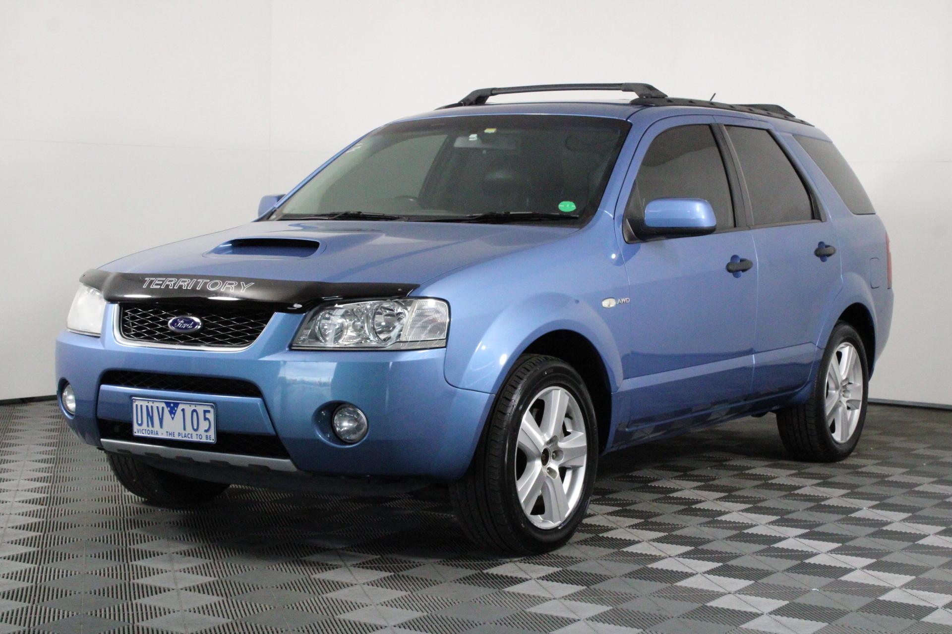 2006 Ford Territory Ghia Turbo AWD SY (Modified: 280kW at wheels) Wagon