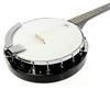Karrera 5 String Resonator Banjo - Black
