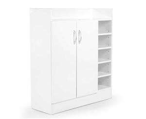 21 Pairs Shoe Cabinet Rack Storage Organ