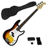 Karrera Electric Bass Guitar Pack - Sunburst