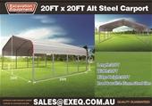 2021 Unused 20ft x 20ft Carports