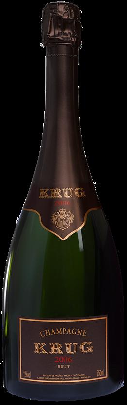 Krug Vintage Champagne 2006 (1x 750mL). Fra