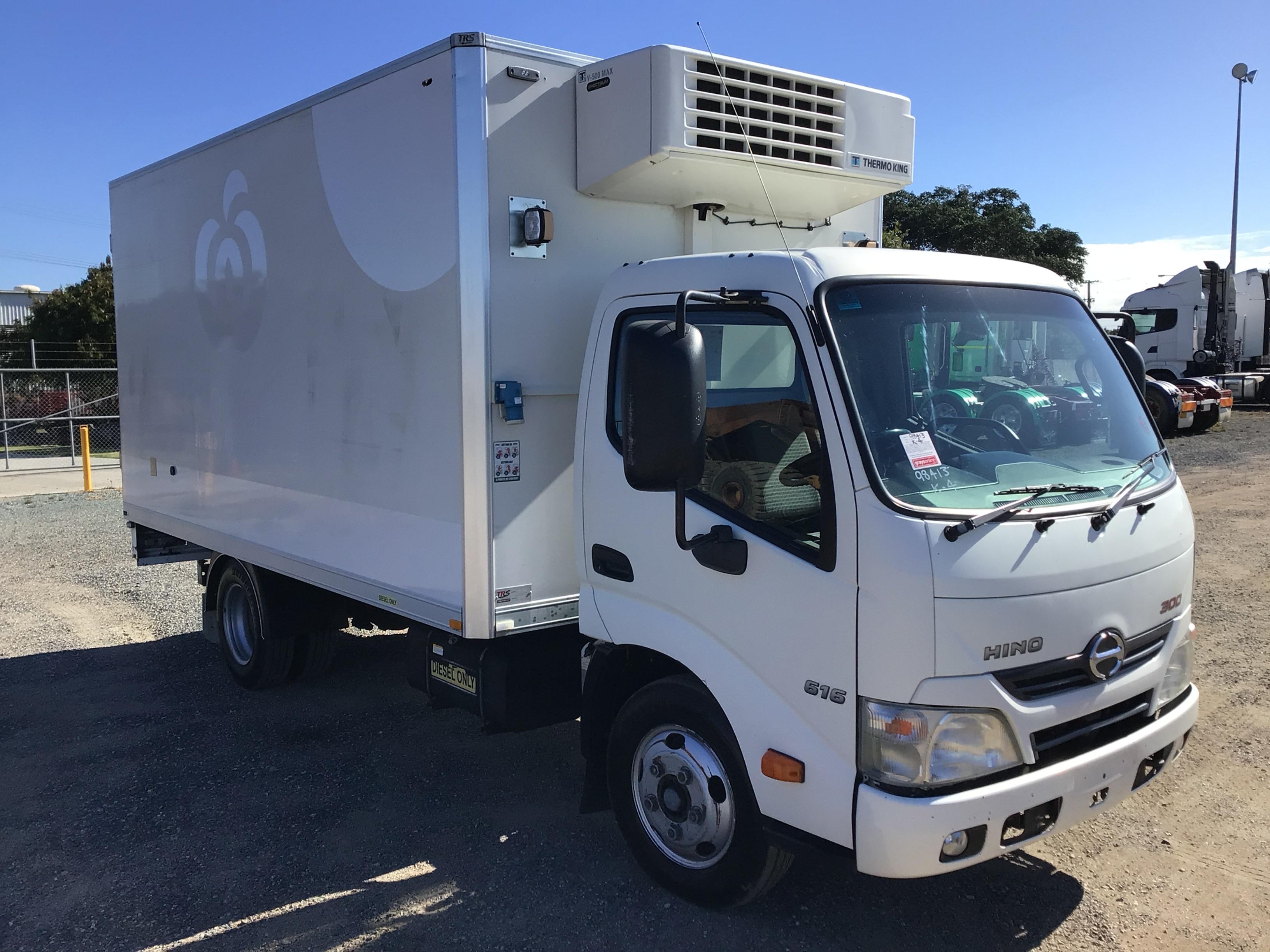 2014 Hino 300 Series 2 Refrigerated Body Truck (Ex Fleet)