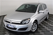 Unreserved 2005 Holden Astra CD AH Auto Hatch